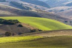 Landschaft von Basilikata-Landschaft Stockbild