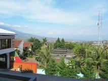 Landschaft von Batu-Stadt Lizenzfreies Stockfoto
