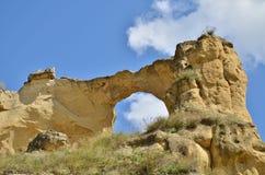 Landschaft von Bergen im Süden von Russland Der Nord-Kaukasus Stockfotos
