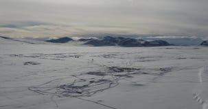 Landschaft von Bergen Kirgisistan Asien stock footage