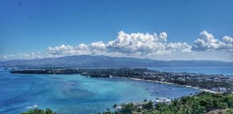 Landschaft von Boracay-Insel, Philippinen Lizenzfreie Stockbilder