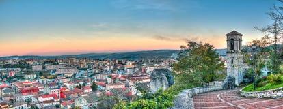 Landschaft von Campobasso Lizenzfreies Stockfoto