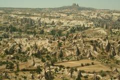 Landschaft von Cappadocia Stockfotografie