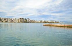 Landschaft von Chalcis Euboea Griechenland Lizenzfreie Stockfotografie
