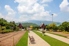 Landschaft von Chang Mai Stockbild