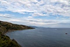 Landschaft von Cilento Lizenzfreie Stockbilder