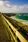 Landschaft von der Grafschaft-Ameisenfelge Nordirland Großbritannien Lizenzfreie Stockbilder