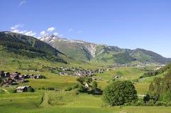 Landschaft von der Schweiz Stockfoto