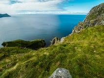 Landschaft von der Spitze des Berges Lizenzfreie Stockfotos
