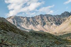 Landschaft von deutschen Alpen Stockfoto
