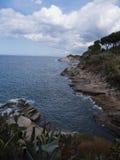 Landschaft von Elba Island Tuscany Italy Stockfotografie