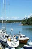Landschaft von Finnland-` s Archipel lizenzfreie stockfotografie