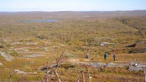 Landschaft von Finnmark Lizenzfreies Stockbild