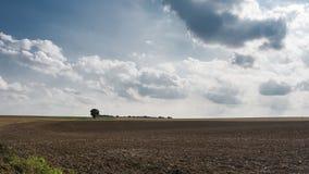 Landschaft von Franzosen Vexin Lizenzfreies Stockfoto