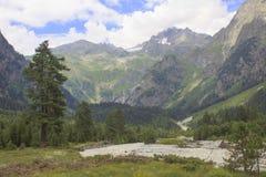 Landschaft von Georgia Lizenzfreie Stockbilder