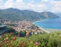 Landschaft von Gioiosa Marea bei Sizilien lizenzfreie stockfotos