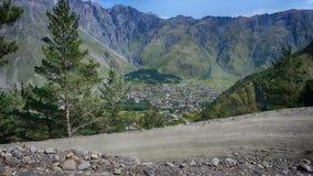 Landschaft von Gorgia stockbild