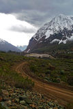 Landschaft von großen Bergen Lizenzfreie Stockbilder