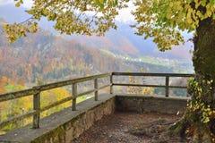 Landschaft von Gruyeres Stockfotos