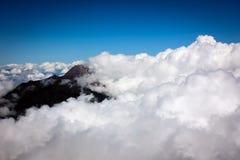Landschaft von Indonesien-Berg Stockfoto
