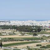 Landschaft von Insel von Malta Stockfotografie