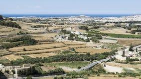 Landschaft von Insel von Malta Lizenzfreies Stockfoto