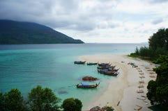 Landschaft von Insel in Thailand Lizenzfreies Stockfoto