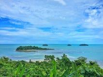 Landschaft von Inseln lizenzfreies stockfoto