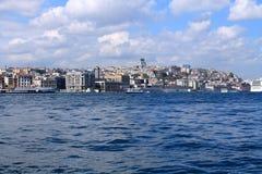 Landschaft von Istanbul und von Bosporus Lizenzfreies Stockbild