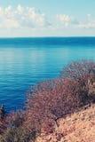 Landschaft von Kalabrien Stockbild