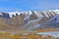 Landschaft von Khunjerab-Durchlauf Stockbilder