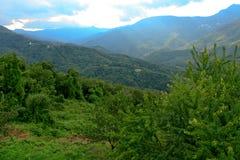 Landschaft von Korsika Stockfotos