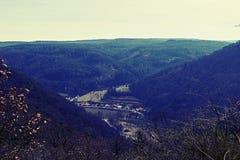 Landschaft von Kreuz Klein Wien entwickelt Lizenzfreies Stockfoto