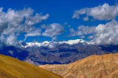 Landschaft von Ladakh, Jammu und Kashmir, Indien Lizenzfreie Stockfotos