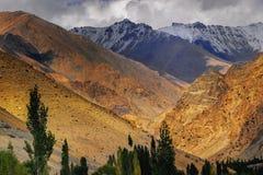 Landschaft von Ladakh, Jammu und Kashmir, Indien Lizenzfreie Stockfotografie