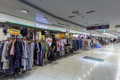 Landschaft von Mall Bupyeong Modoo, Untertageeinkaufszentrum Bupyeong in Incheon Stockfoto
