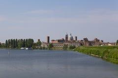 Landschaft von Mantua, Italien Lizenzfreie Stockfotos