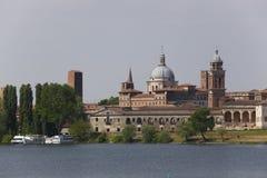 Landschaft von Mantua, Italien Stockfoto