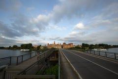 Landschaft von Mantua, Italien Lizenzfreies Stockfoto