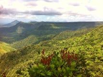 Landschaft von Mauritius-Insel Lizenzfreies Stockfoto