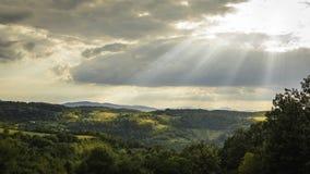 Landschaft von Mionica Stockbild