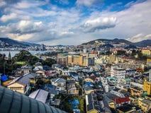 Landschaft von Nagasaki Japan Stockfoto