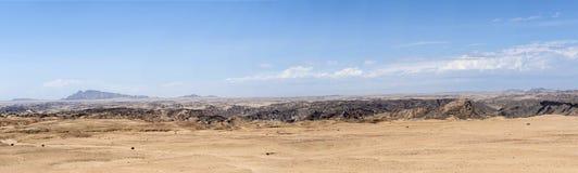 Landschaft von Namibischer Wüste Stockbild