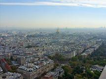 Landschaft von Paris stockfotografie