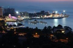 Landschaft von Pattaya stockbild