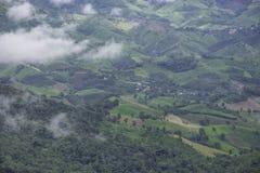 Landschaft von Phu-Chi-Fa, Chiang Rai Thailand Lizenzfreies Stockbild