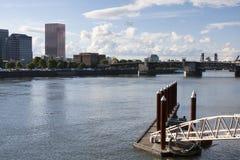 Landschaft von Portland, Oregon, USA. Lizenzfreie Stockfotografie