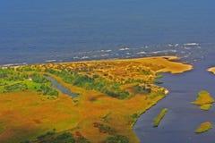 Landschaft von Riga Stockfotos