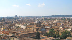 Landschaft von Rom Stockbild