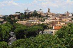 Landschaft von Rom lizenzfreie stockfotos